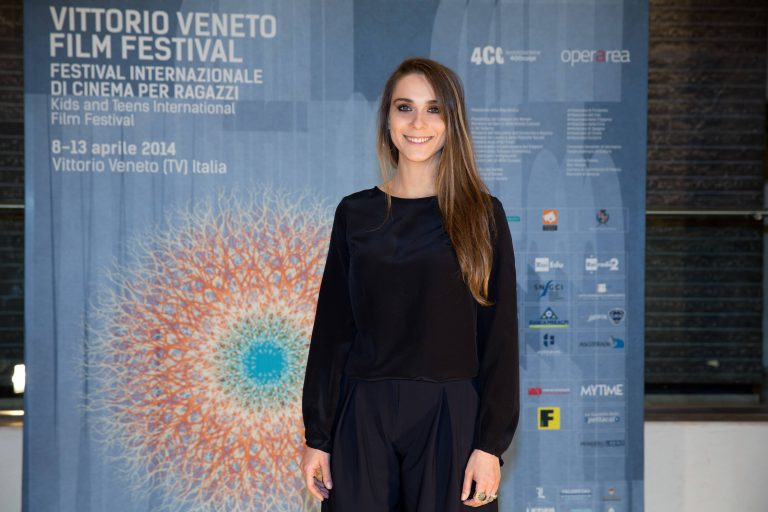 Lucrezia Guidoni ( actress ) attends the photocall of Vittorio Veneto Film Festival 2014