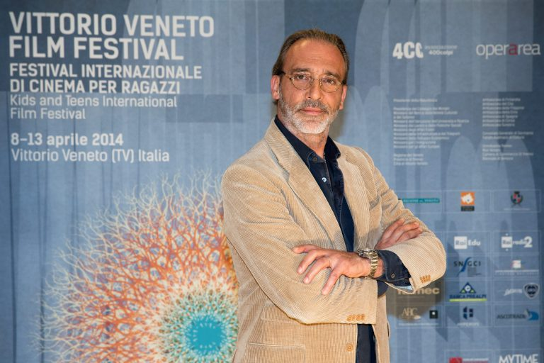 Luca Ward (actor and dubber and dubbing director) attends the photocall of Vittotio Veneto Film Festival 2014